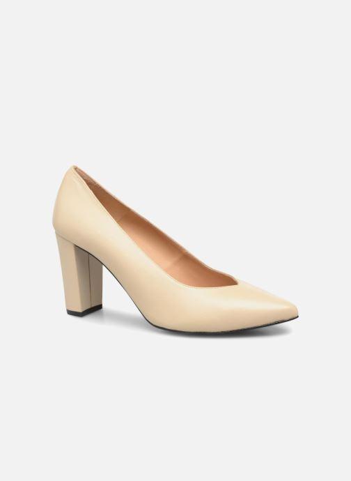 Zapatos de tacón Made by SARENZA Crazy Seventy #5 Beige vista lateral derecha