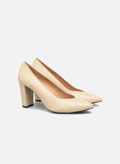 Zapatos de tacón Made by SARENZA Crazy Seventy #5 Beige vistra trasera