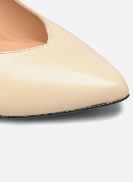 Zapatos de tacón Made by SARENZA Crazy Seventy #5 Beige vista lateral izquierda
