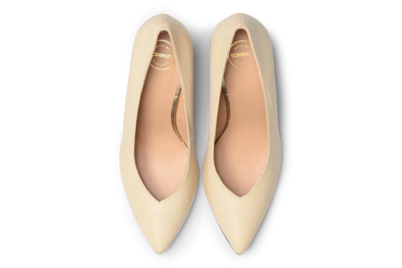 Escarpins Made by SARENZA Crazy Seventy #5 Beige vue portées chaussures