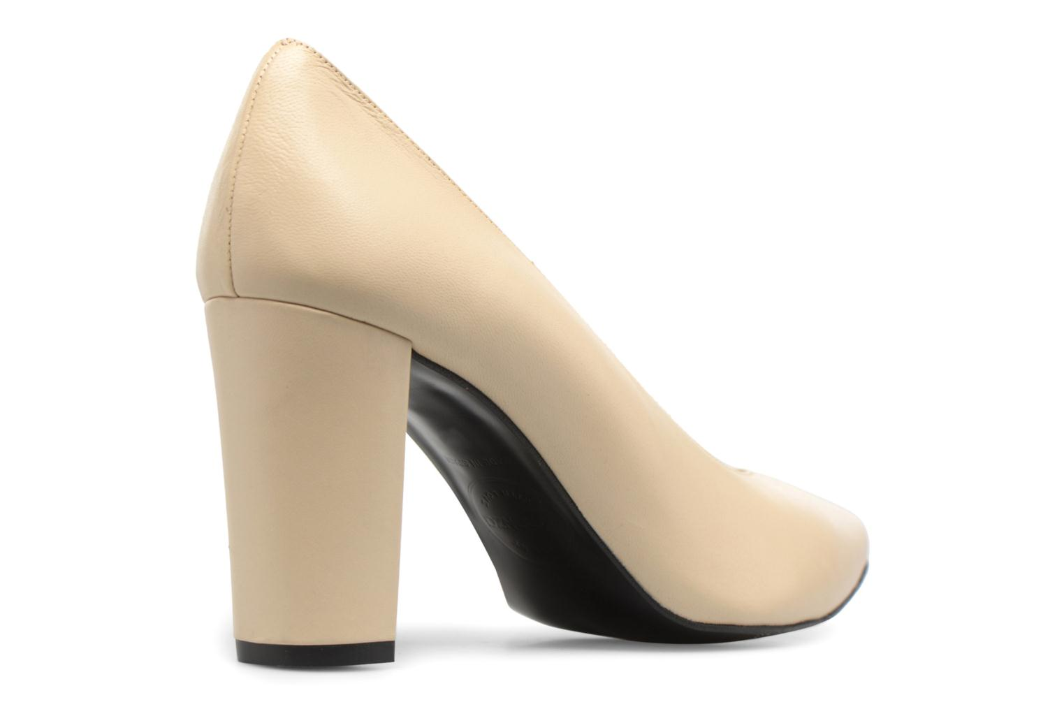 High heels Made by SARENZA Crazy Seventy #5 Beige front view