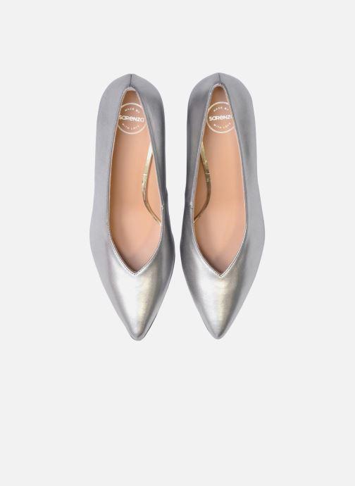 Zapatos de tacón Made by SARENZA Busy Girl Escarpins #3 Plateado vista del modelo