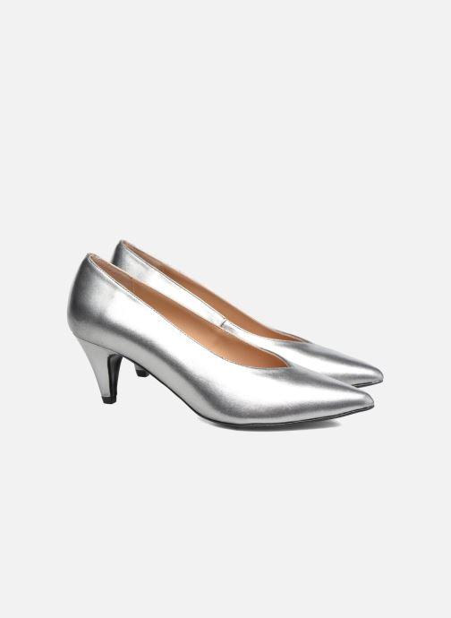 Zapatos de tacón Made by SARENZA Busy Girl Escarpins #3 Plateado vistra trasera