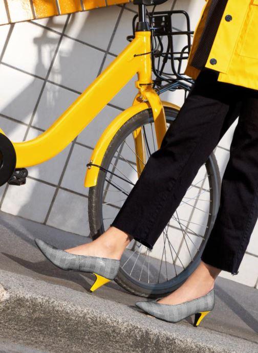 Zapatos de tacón Made by SARENZA Busy Girl Escarpins #3 Gris vista de abajo