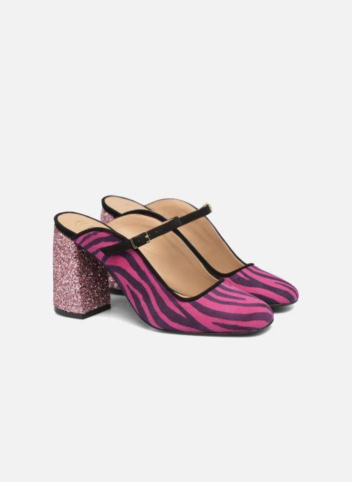 Wedges Made by SARENZA Crazy Seventy #8 Roze achterkant