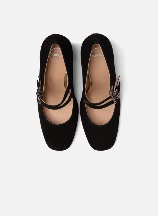 Zapatos de tacón Made by SARENZA Crazy Seventy #9 Negro vista del modelo