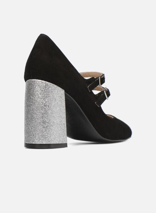 Zapatos de tacón Made by SARENZA Crazy Seventy #9 Negro vista de frente