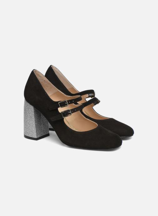 Zapatos de tacón Made by SARENZA Crazy Seventy #9 Negro vistra trasera