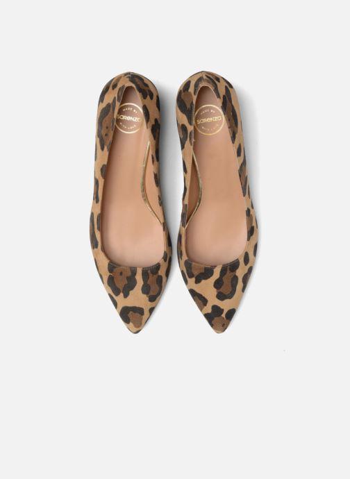 Escarpins Made by SARENZA Snow Disco #8 Marron vue portées chaussures