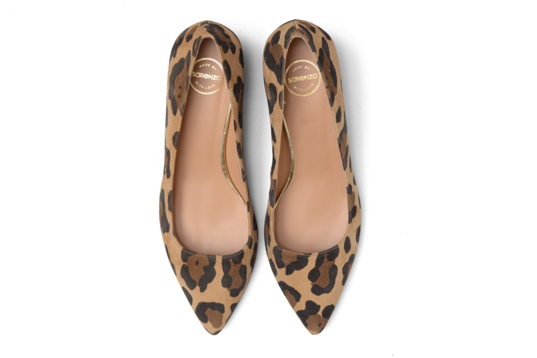 Zapatos de tacón Made by SARENZA Snow Disco #8 Marrón vista del modelo