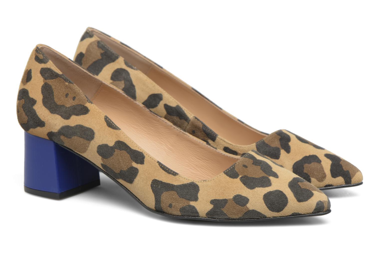 Zapatos de tacón Made by SARENZA Snow Disco #8 Marrón vistra trasera