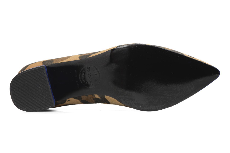 Zapatos de tacón Made by SARENZA Snow Disco #8 Marrón vista de arriba