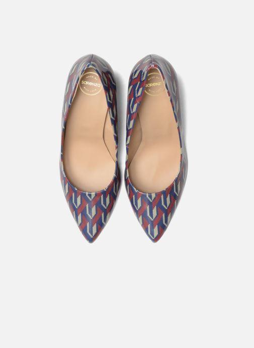 Zapatos de tacón Made by SARENZA Snow Disco #9 Multicolor vista del modelo