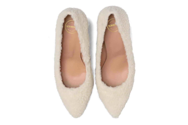 Décolleté Made by SARENZA Snow Disco #9 Bianco modello indossato