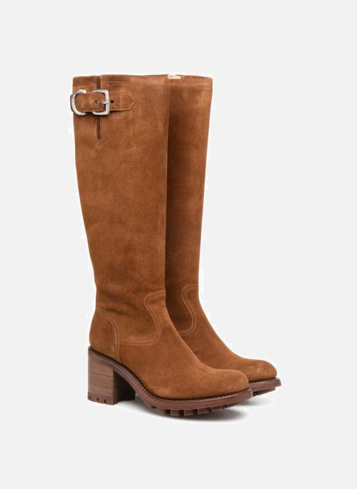 Boots & wellies Free Lance Justy 7 Zip Geronimo Brown 3/4 view