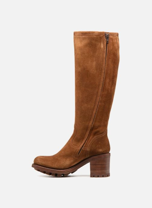 Bottes Free Lance Justy 7 Zip Geronimo Marron vue face