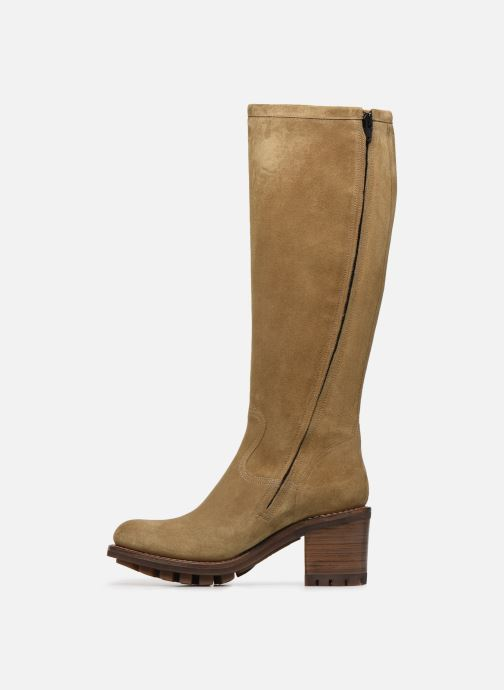 Bottes Free Lance Justy 7 Zip Geronimo Beige vue face