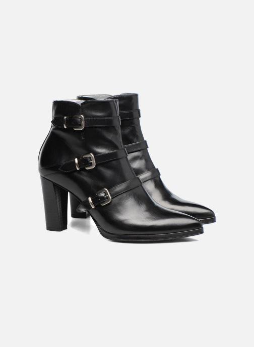 Bottines et boots Free Lance Kalfy 7 boot 3 strap Noir vue 3/4
