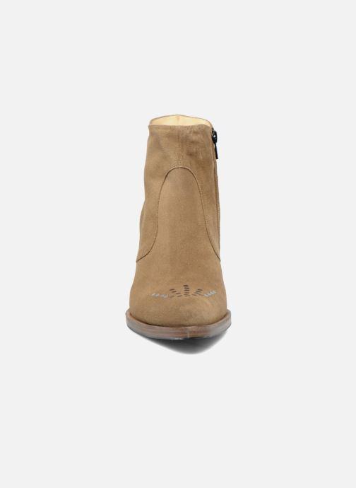 Botines  Free Lance Paddy 7 Zip boot rivet Beige vista del modelo