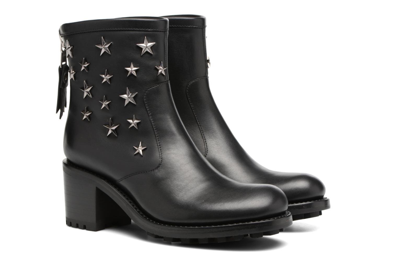 Boots en enkellaarsjes Free Lance Biker 7 Zip Boot Star Zwart 3/4'