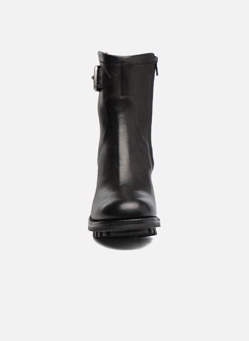 Bottines et boots Free Lance Justy 9 Small Gero Buckle Noir vue portées chaussures