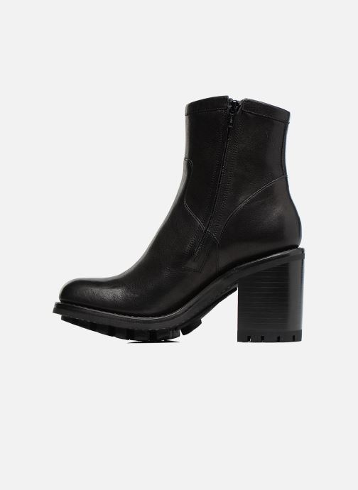Ankle boots Free Lance Justy 9 Small Gero Buckle Black front view