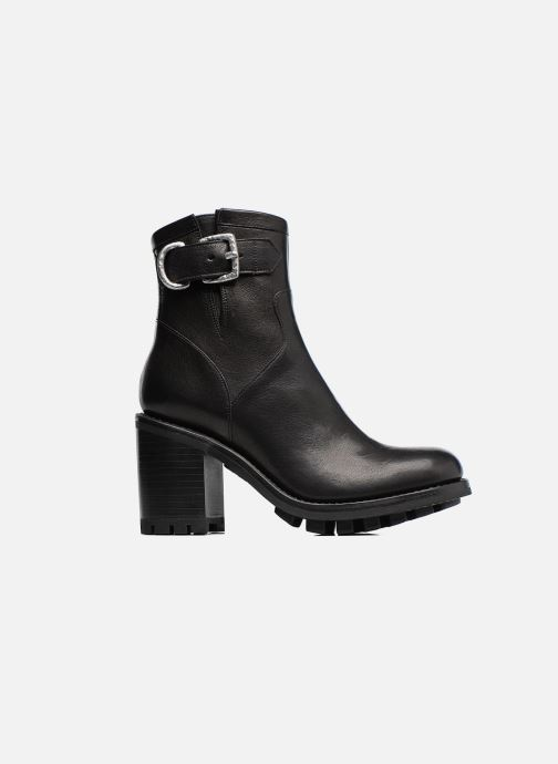 Ankle boots Free Lance Justy 9 Small Gero Buckle Black back view