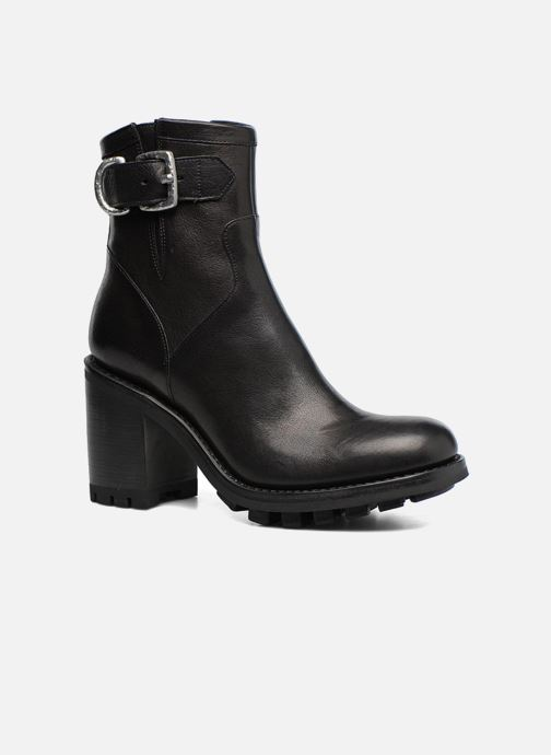 Ankle boots Free Lance Justy 9 Small Gero Buckle Black detailed view/ Pair view