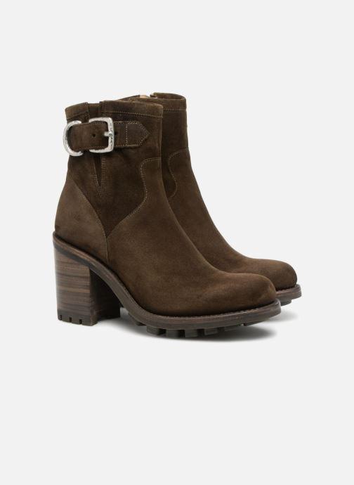 Stiefeletten & Boots Free Lance Justy 9 Small Gero Buckle grün 3 von 4 ansichten