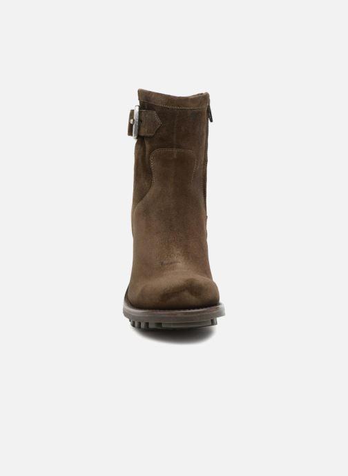 Stiefeletten & Boots Free Lance Justy 9 Small Gero Buckle grün schuhe getragen