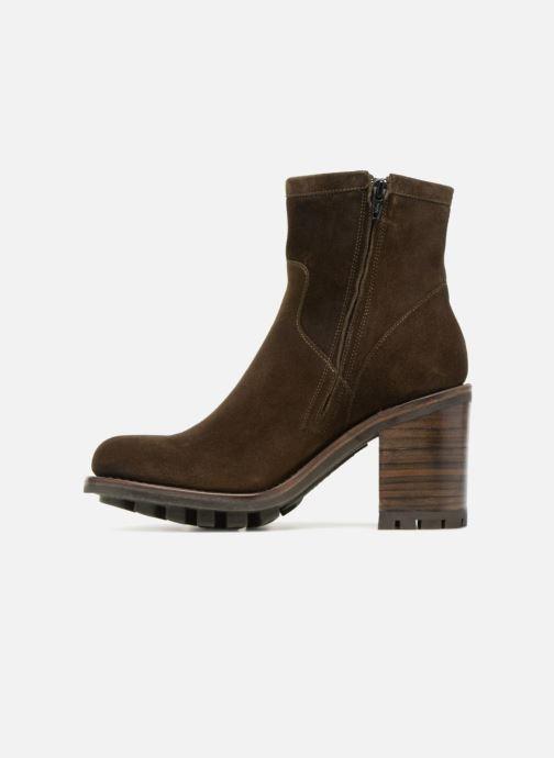 Stiefeletten & Boots Free Lance Justy 9 Small Gero Buckle grün ansicht von vorne