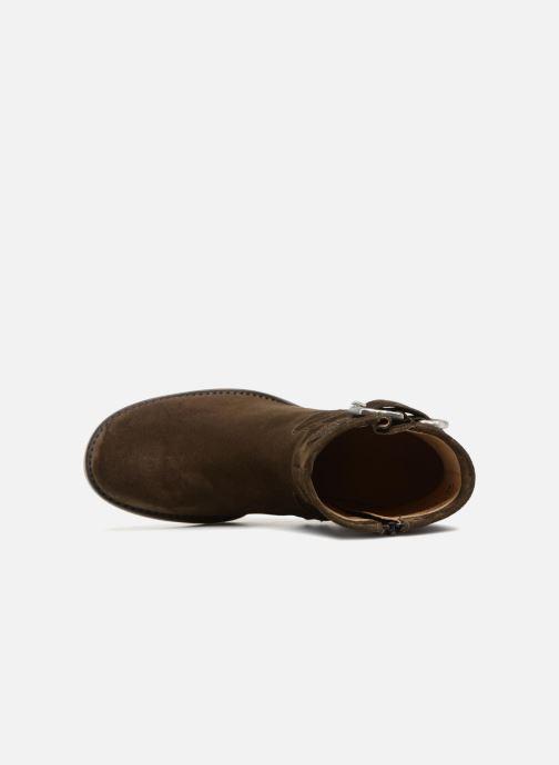 Stiefeletten & Boots Free Lance Justy 9 Small Gero Buckle grün ansicht von links