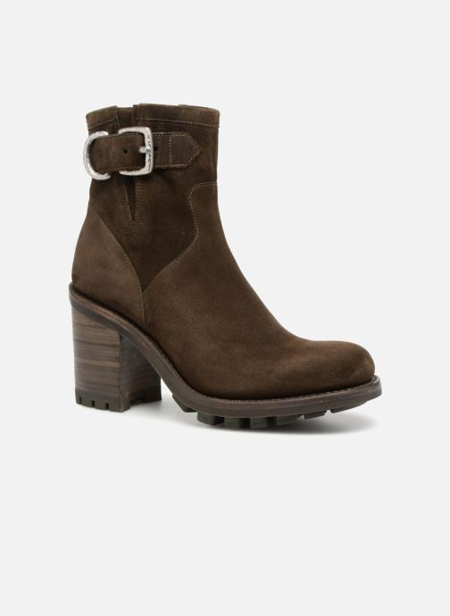 Stiefeletten & Boots Free Lance Justy 9 Small Gero Buckle grün detaillierte ansicht/modell