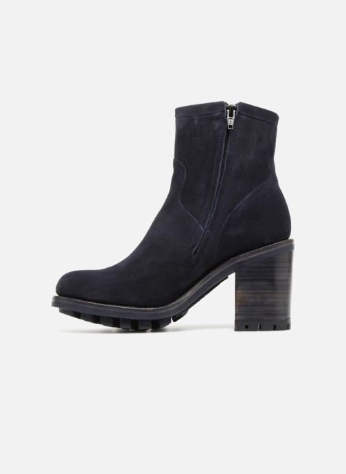 Bottines et boots Free Lance Justy 9 Small Gero Buckle Bleu vue face