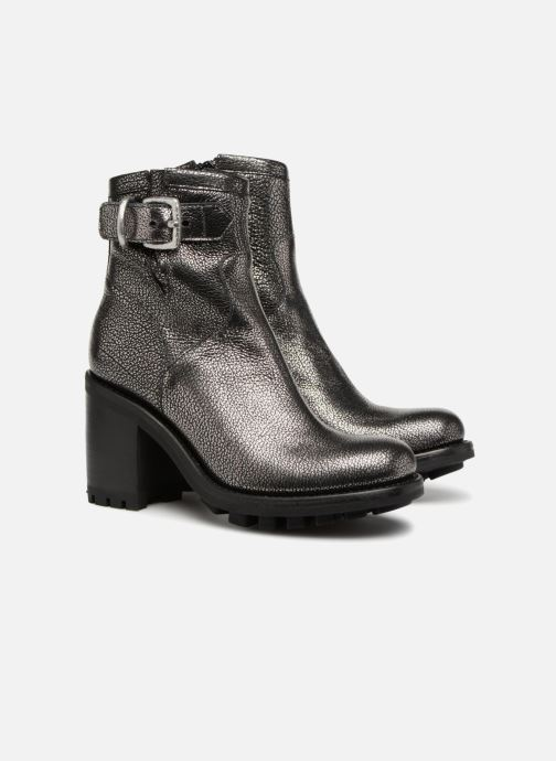 Bottines et boots Free Lance Justy 9 Small Gero Buckle Argent vue 3/4