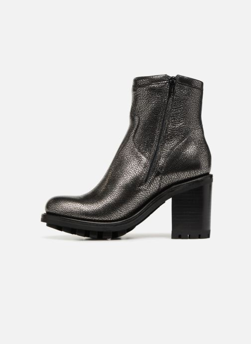 Bottines et boots Free Lance Justy 9 Small Gero Buckle Argent vue face