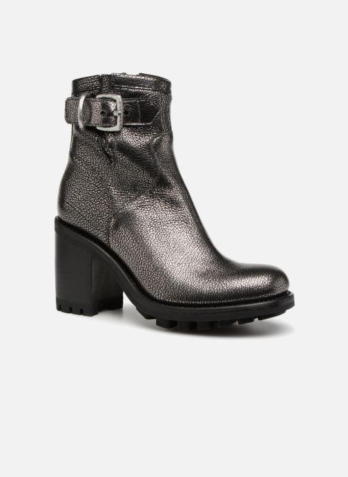 Bottines et boots Free Lance Justy 9 Small Gero Buckle Argent vue détail/paire