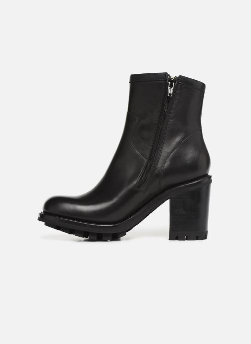 Bottines et boots Free Lance Justy 9 Small Gero Buckle Noir vue face