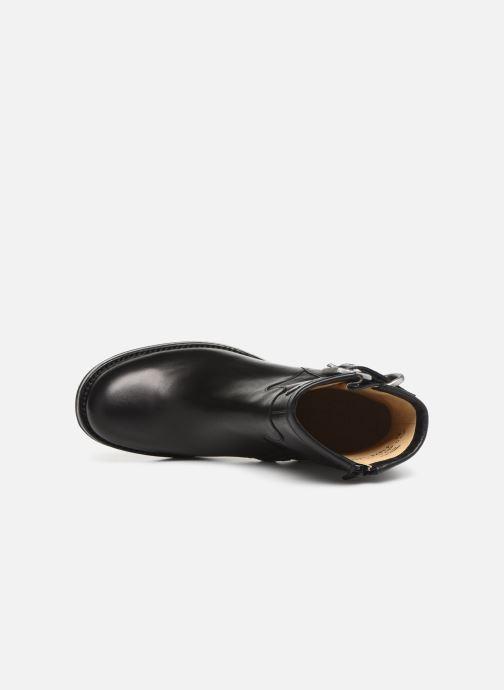 Bottines et boots Free Lance Justy 9 Small Gero Buckle Noir vue gauche