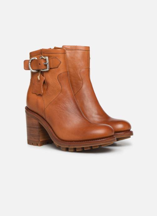 Stiefeletten & Boots Free Lance Justy 9 Small Gero Buckle braun 3 von 4 ansichten