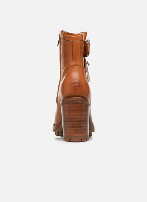Bottines et boots Free Lance Justy 9 Small Gero Buckle Marron vue droite
