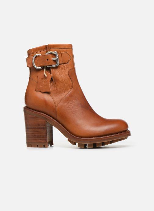 Bottines et boots Free Lance Justy 9 Small Gero Buckle Marron vue derrière