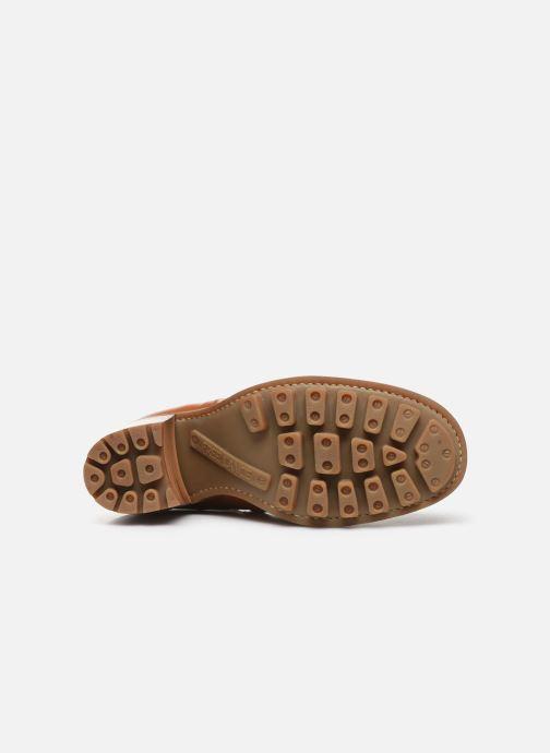 Bottines et boots Free Lance Justy 9 Small Gero Buckle Marron vue haut