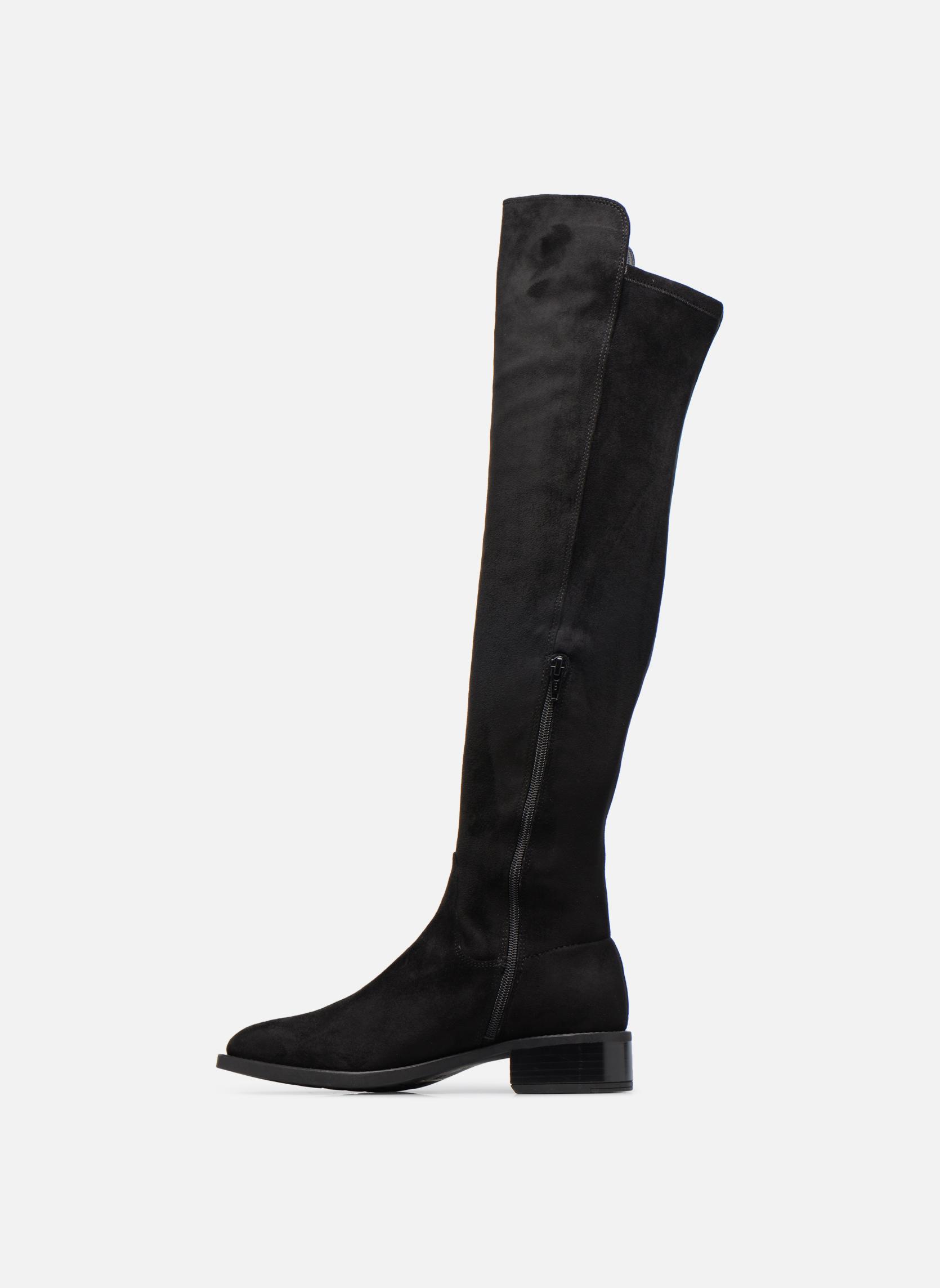 Boots & wellies Unisa Elvis Black front view