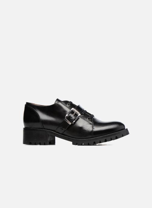 Zapatos con cordones Unisa Inmole Negro vistra trasera