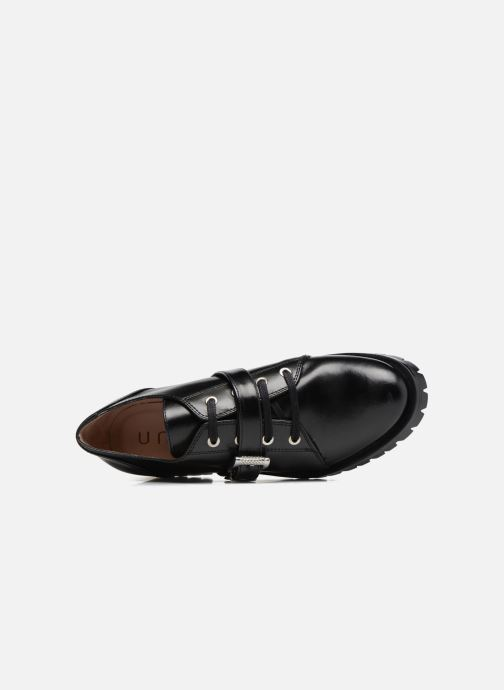 Chaussures à lacets Unisa Inmole Noir vue gauche