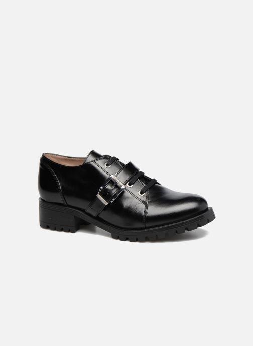 Zapatos con cordones Unisa Inmole Negro vista de detalle / par
