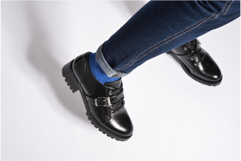 Zapatos con cordones Unisa Inmole Negro vista de abajo