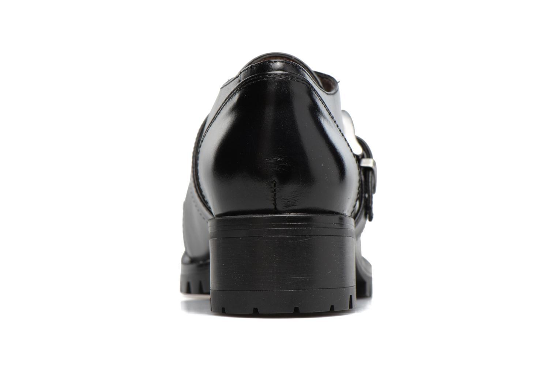 Zapatos con cordones Unisa Inmole Negro vista lateral derecha
