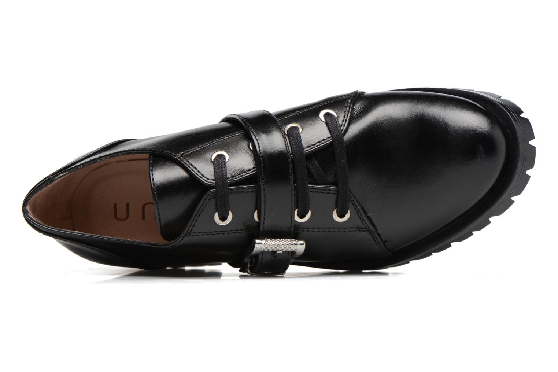 Zapatos con cordones Unisa Inmole Negro vista lateral izquierda